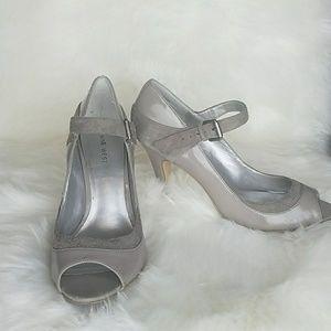 Nine West Strap & Peep Toe Heels